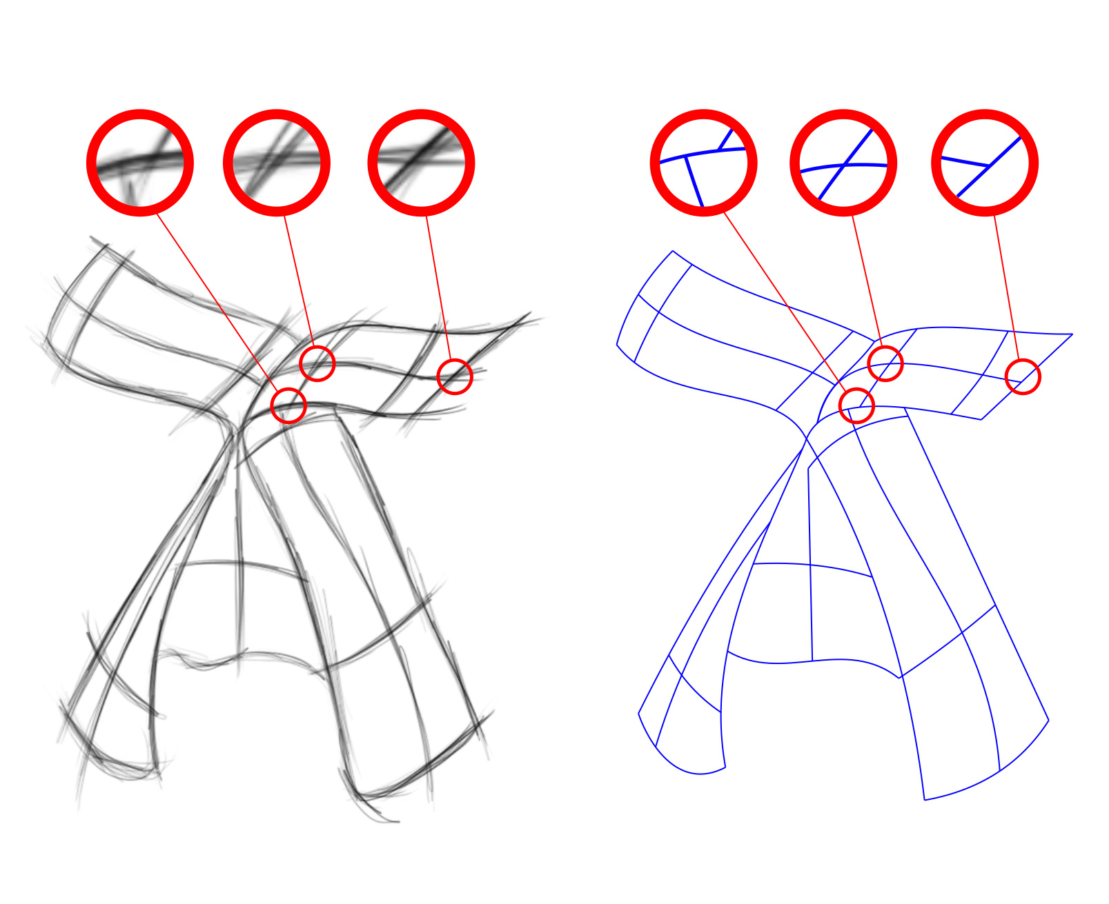Line Drawing Vs Mass Drawing : Teaser ko