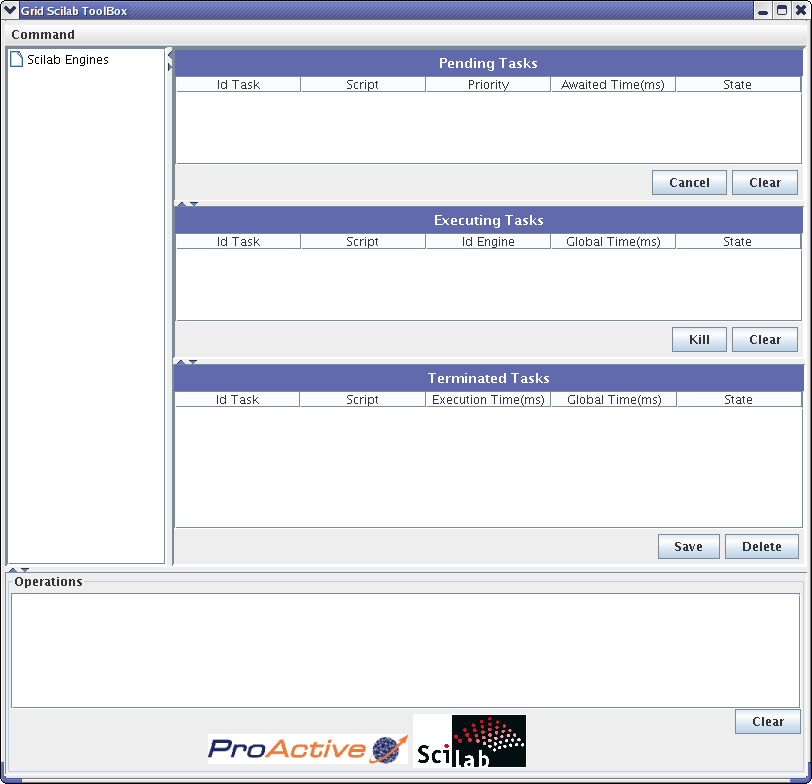 Parallel execution of Scilab Scripts on clusters and desktop grids
