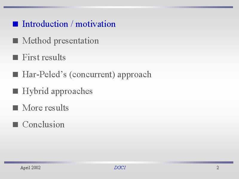motivation conclusion ppt